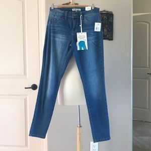 Jeans, skinny butt shaping
